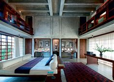 Gravity Home : Architect's home in India via Marie Claire Maison...