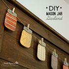 Make Paper Mason Jar Garland