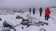 Contaminación: la cocaína llegó a la Antártida