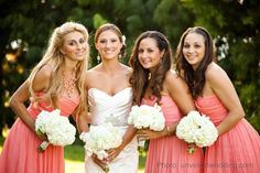 3 bridesmaids