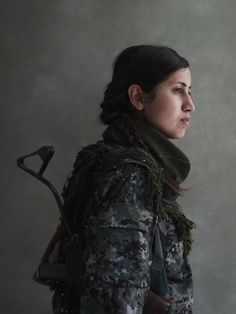 from the series Guerrilla Fighters in Kurdistan, by Joey L.