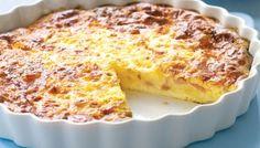 Ομελέτα – πίτα φούρνου με ζαμπόν και τυρί