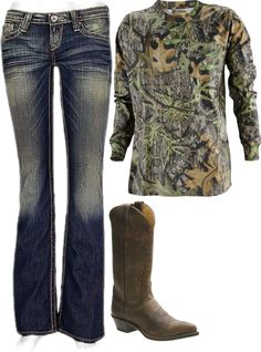 """Round here"" by small-town-country-gurl on Polyvore Country fashion"