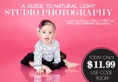 Studio Basics 101 ★ EVERYTHING You Need To Know! TODAY ONLY! A Guide to Natural Light Studio Photography for $11.99. Use code 90OFF at checkout! This sale will end tomorrow at 1pmEST.