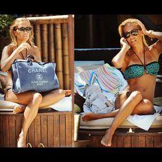 Chanel Beach Bag.