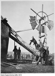 Historic England Archive Content Has Moved Firemen, Norfolk, Photographers, England, Exterior, Prints, Image, Firefighters