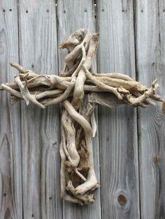driftwood cross - Google Search