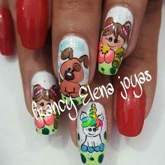 Makeup Art, Nail Art Designs, Diy And Crafts, Mary, Victoria, Nails, Beauty, Nail Stickers, Designed Nails