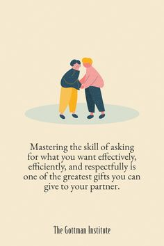 Do you find yourself getting upset at your partner for things you never communicated to them? Your partner can't read your mind. It's essential that you ask for what you want in order to receive it. Learn more about putting your feelings into words without contempt or criticism with Gottman Relationship Coach today. Gottman Institute, John Gottman, Relationship Coach, Emotional Development, Mind Body Soul, Relationships Love, You Really, True Love, Counseling