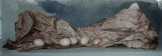 Giovanni Marziano - Eggs again - Olio su tela