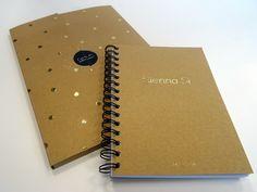 Kit de communication Convention - Sienna Si / Photo: Beausoleil France #Sepia #Carnet #Chemise #Kraft #Wireo #Dorure #Fashion