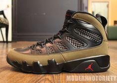 "Air Jordan 9 Retro ""Olive"""