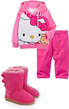 """""""Kids"""" by mindlessforeverr143 ❤ liked on Polyvore Hello Kitty Clothes, Hoodies, Sweatshirts, My Style, Polyvore, Sweaters, Kids, Fashion, Young Children"""
