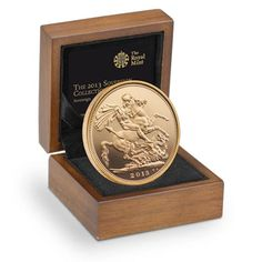 The 2013 UK Gold Proof Sovereign  £495.00    The flagship coin of Britain and the Royal Mint  St George returns for the 60th anniversary of the Queen's first Sovereigns