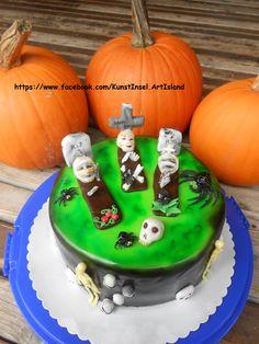 Halloween Cake Fondant