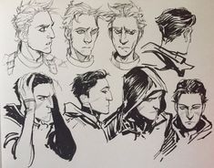 Sketch Hair Face Structure,hair,etc Drawing Reference, Design Reference, Character Inspiration, Character Art, Face Sketch, Sketchbook Inspiration, Traditional Art, Cool Drawings, Art Inspo