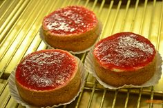 Cheesecakes de Morango