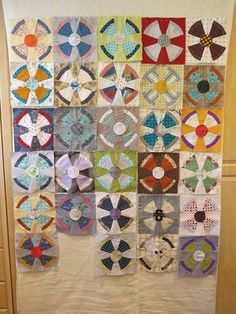 Steampunk Quilt by Thimbleanna. Pattern by Jen Kingwell. | Circle ... : steampunk quilt tutorial - Adamdwight.com