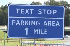 "In a new effort to combat distracted driving, New York State is instituting a trial program that will establish 91 ""texting zones"" where drivers can pull off the road to send or respond to text messages. Drive Safe Quotes, Driving Quotes, Ford Ecoboost Engine, Dont Text And Drive, New Lincoln, Distracted Driving, Car Fix, Driving Safety, Social Awareness"