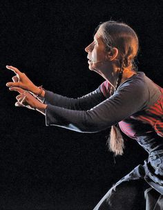 Meredith Monk in <i>On Behalf of Nature</i>.