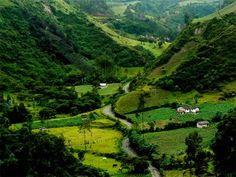 Andes Mountains Ecuador