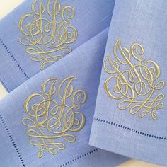 Fabulous custom monogram for a special customer. We would love to make one for you! #theloveliest #custommonogram
