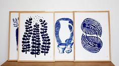 Malene Zapffe artprints - find them at Retrovilla.dk