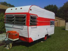 1966 trout wood pull behind camper