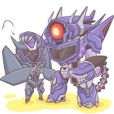 This is soo cute! I really like Soundwave's design in transformers Prime.