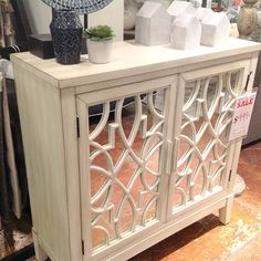We are dying over the details on this cute chest that happens to be on sale for only $449. 😍😍😍 That's a steal! Come in quick because there's a limited supply.