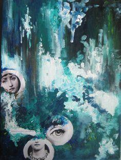 pack up your tears so we can go by Piia Myller Art Journals, Abstract Art, Original Art, Paintings, Fine Art, Illustration, Artist, Artwork, Design