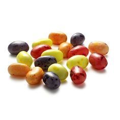 8 Energy Boosters Under 80 Calories    6.  Sugar rush (72 Calories)    18 Smoothie Blend Jelly Belly Jelly Beans