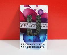 Plastikkarten - Farbig - Kundenkarten - Kreditkarten - Rubbelfeld - Buchstaben - http://www.bce-online.com/de/shop/plastikkarten/plastikkarten.html