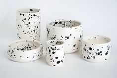 Ceramic Dishes + Soy Candles by OUI