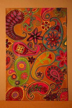 Crazy Paisley - Amy Adams Designs