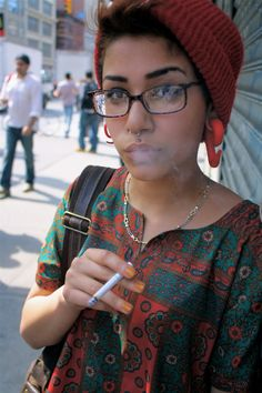 The Uniqueness of Hipster Piercings : Septum Piercings ~ frauenfrisur.com Hipster Styles Inspiration