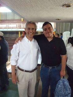 """Fernando Andrade Carmona y Freddie Armando Romero en """"Toledo 2.0: Voto seguro, voto por Toledo"""". (2011)"""