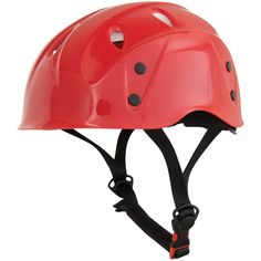 Liberty Mountain Rock Master Helmet - The new Rock Master helmet has a comfortable and durable harness system that will keep you cool and comfortable. | at www.weighmyrack.com/ #rock #climbing #gear