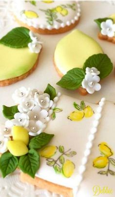 Lemon Tea Cookies ~ Debbie ❤
