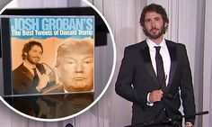 Awesome video of Josh Groban Singing Donald Trump's Tweets. Must See!