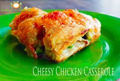 Cheesy Chicken Casserole takes no time to make and even better making ahead for the busy work week Ingredients and step-by-step instructions on Cheesy Chicken Casserole Jump To Recipe   The Ingredients