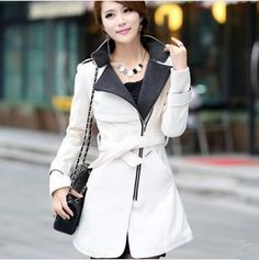 2014 Luxury British Style Women Winter Long Wool Down Thick Ladies Casual Dress Outerwear Coat/Fashion Abrigo Casacos Femininos Winter Coats Women, Coats For Women, Clothes For Women, Trendy Fashion, Fashion Outfits, Trendy Style, Ladies Fashion, Fashion News, Style Fashion
