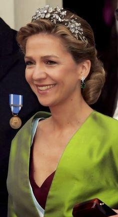 Her Royal Highness Infanta Cristina of Spain, Duchess of Palma de Mallorca.  Infanta Cristina Federica Victoria Antoniade la Santísima Trinidad de Borbón y de Grecia, born 13 June 1965, is the younger daughter of King Juan Carlos and Queen Sofía of Spain.