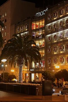 Macy's at Union Square, San Francisco, California