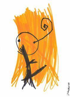 GrWq 19 (pennarelli su carta by C.Gurra)