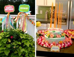 Customer Parties:: Luau Birthday Party Feature