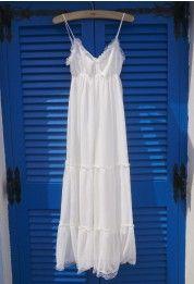 Encantador Maxi Vestido Veraniego de Chifón.Inspo