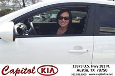 #HappyAnniversary to Kristen Vig on your 2014 #Kia #Sportage from Everyone at Capitol Kia!