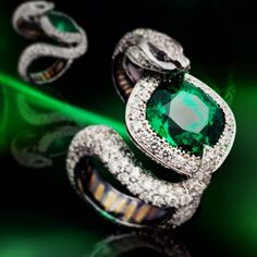 This reminds me of the slytherin ring ❤️ I want it now