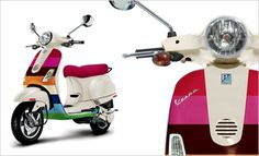 Limited Edition Vespa, don't think the kids will fit on here, but I'll still take one :)
